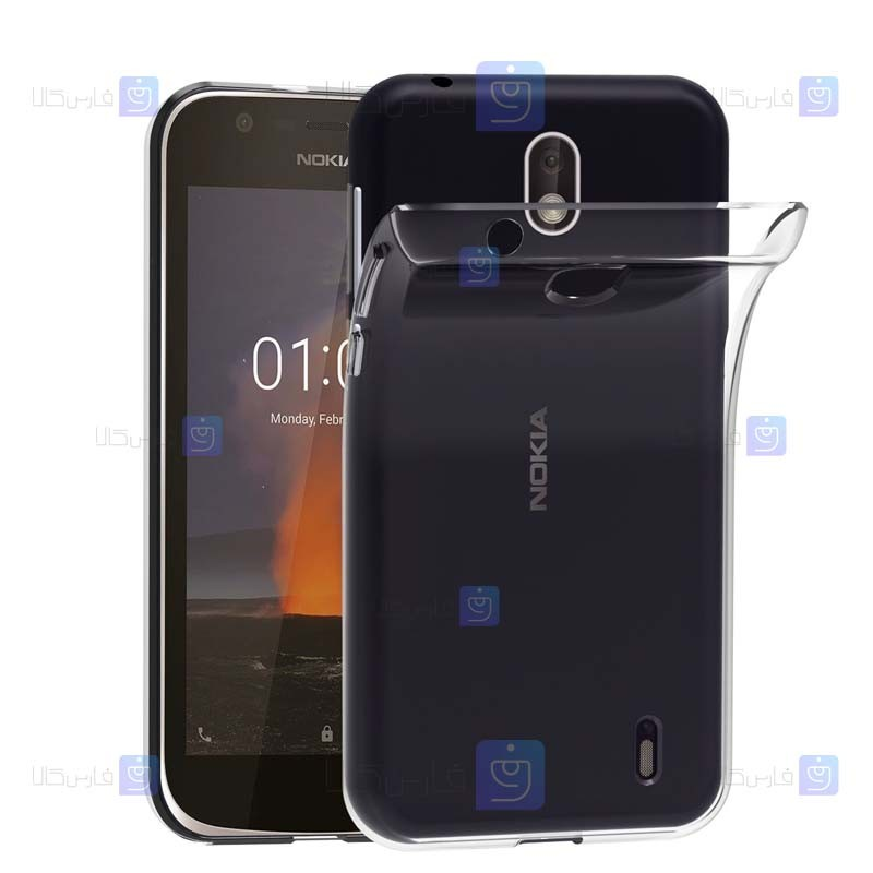 قاب ژله ای Nokia 1 مدل شفاف