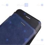 کیف کلاسوری چرمی Samsung Galaxy A22 4G مدل Leather Standing Magnetic