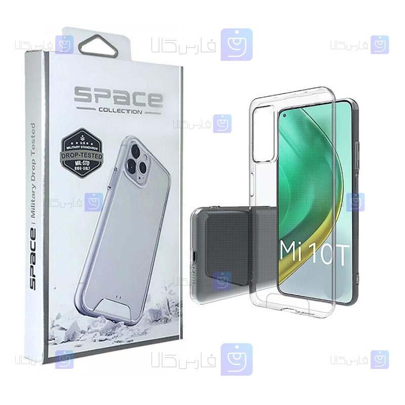قاب شیشه ای – ژله ای Xiaomi Mi 10T مدل Space Collection