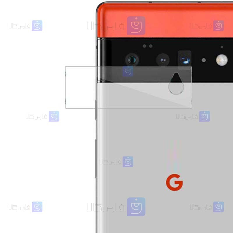 محافظ لنز Google Pixel 6 مدل شیشه ای