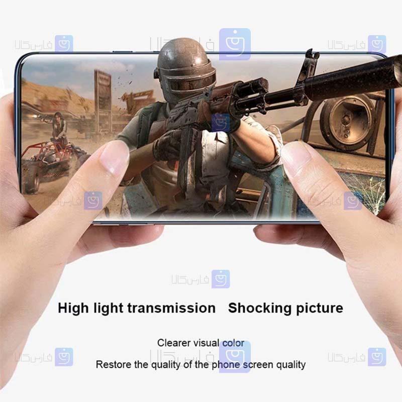 گلس مات Samsung Galaxy A02s مدل تمام صفحه