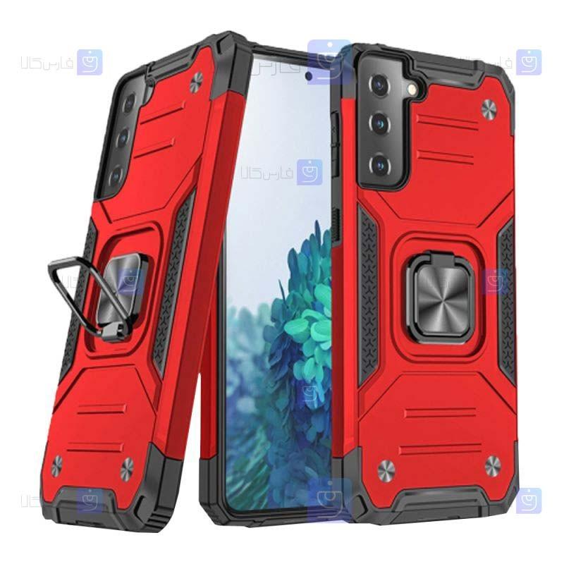 قاب ضد ضربه انگشتی Samsung Galaxy S21 مدل Ranger