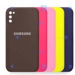 قاب سیلیکونی Samsung Galaxy A02s مدل محافظ لنز دار