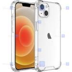 قاب کپسول دار Apple iPhone 13 Mini مدل شیشه ای - ژله ای