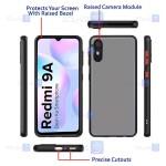 قاب پشت مات Xiaomi Redmi 9AT مدل محافظ لنزدار