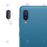 محافظ لنز Samsung Galaxy A02 مدل شیشه ای