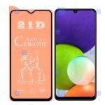 محافظ صفحه سرامیکی Samsung Galaxy A22 4G مدل مات