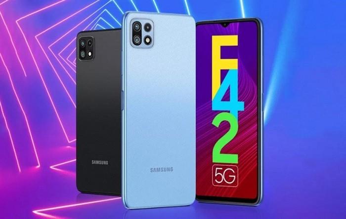 گوشی Samsung Galaxy F42 5G با ظرفیت 128 و رم 8 گیگابایت